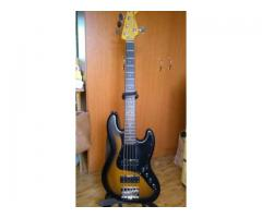 Chitara bas Fender Modern Player Jazz Bass V Satin