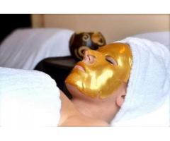 Masca faciala de aur