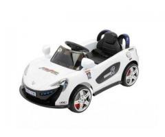Masinuta electrica copii cu telecomanda Mappy alba / rosie