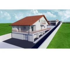 Casa 3 nivele cu teren 1200 mp in oras