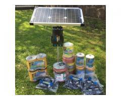 Gard electric cu incarcare solara pentru 6,25hectar (1000m)