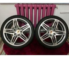 De vanzare Roti/Jante Porsche R19 5x130 Cu Anvelope Pirelli M+S Aproape Noi !