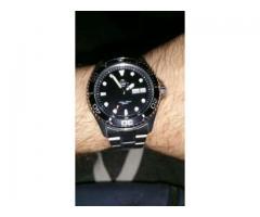 Vand Orient Diver 200m Ray 2 black dial