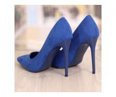 De vanzare pantofi catifea stiletto