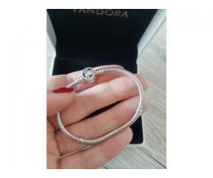 Vand Bratara Pandora 17cm Charmuri Talismane Pandantive Argint