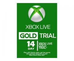 Xbox Live Gold 14 Zile (COD Activare XBOX)