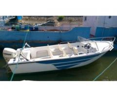 Barca model Spania 5500 fără motor