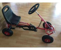 Kart cu pedale copii ,roti cauciuc cu camera.Livrare gratuită!