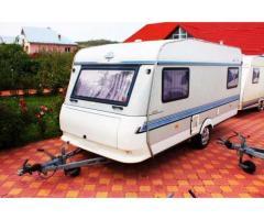 Rulota Hobby 1994 cu 2 zone de dormit Rulote Turistice Drăgășani