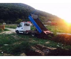 Pamant pentru gazon / umplutura fundatii / umplutura gradini etc