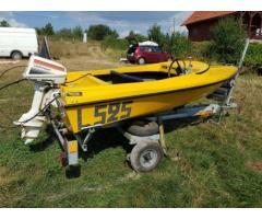Barcă cu motor 4.5 cp si peridoc