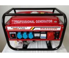 Generator Curent Electric-ROYAL KRAFT-220/380V-3000 W-PORNIRE MANUALA