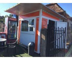 Chiosc comercial/Fast food/magazin/coffe to go/schimb auto