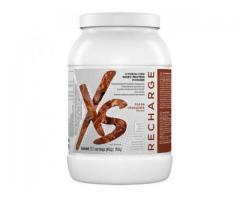 XS™ Hydrolyzed Whey Protein Powder - Gust de ciocolată și cacao.